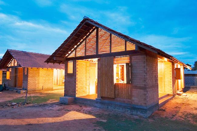 Shigeru Ban completed house