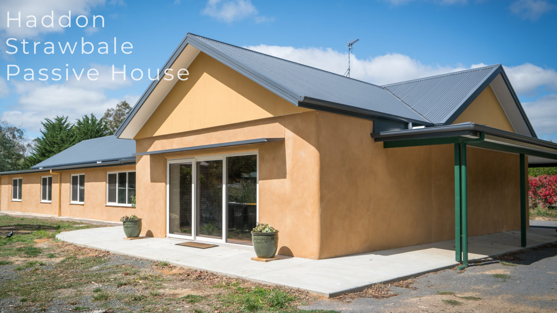Strawbale passive house
